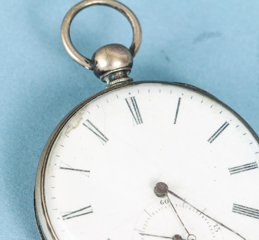 M J Tobias Liverpool Railway Timekeeper Watch - 6