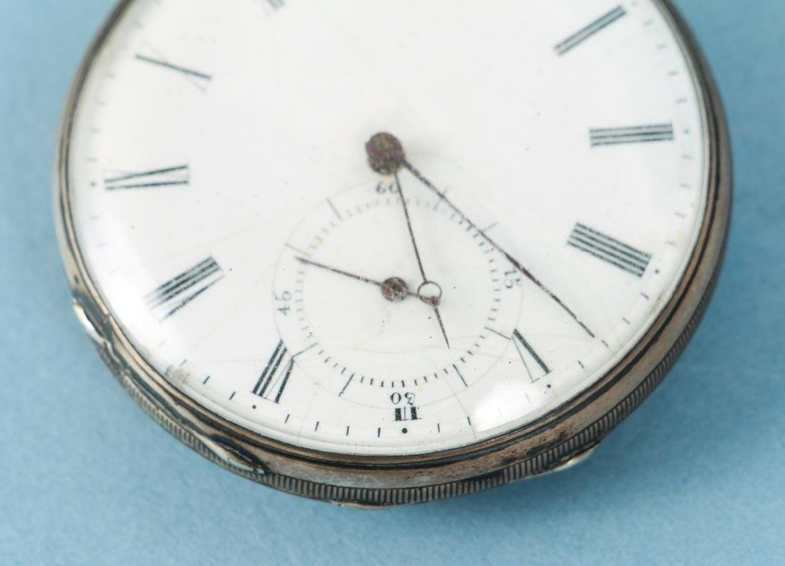 M J Tobias Liverpool Railway Timekeeper Watch - 7