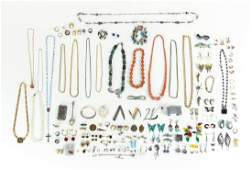 Large Group of Miscellaneous Costume Jewelry