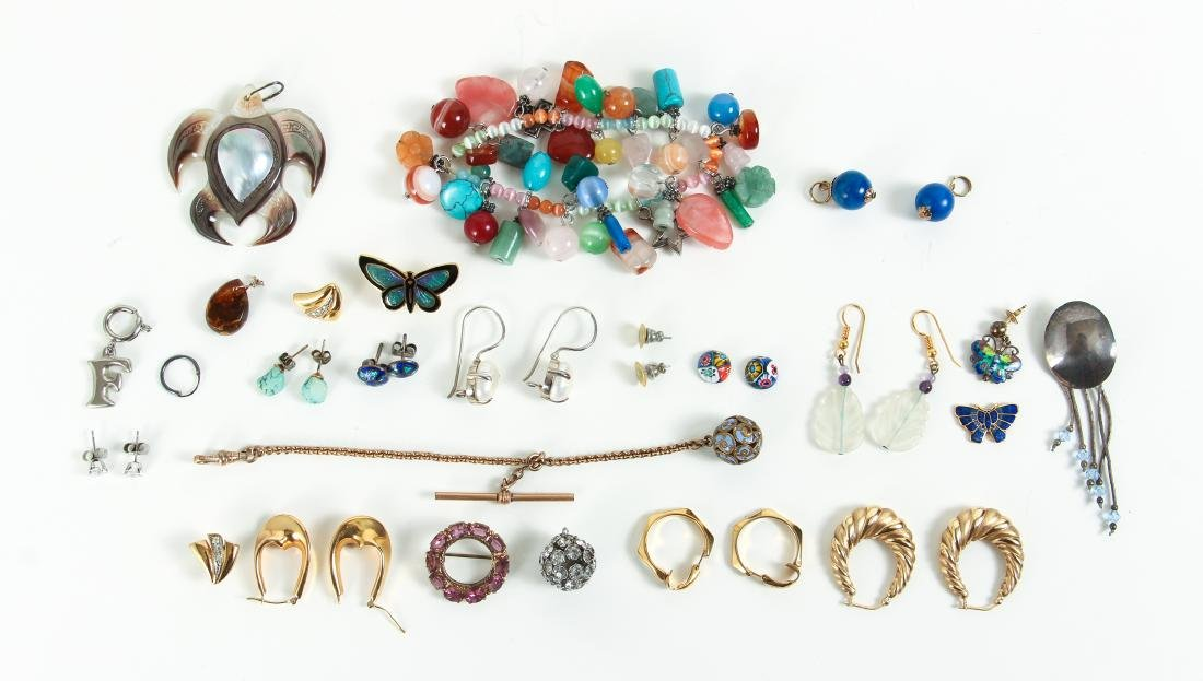 Large Group of Miscellaneous Costume Jewelry - 2