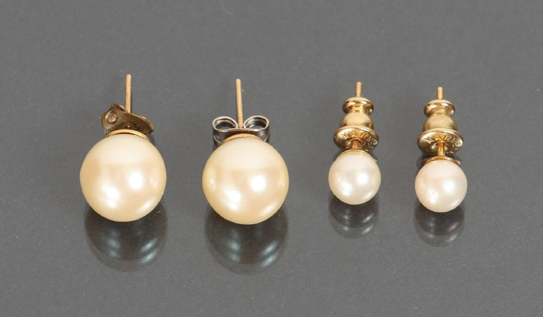 Large Group of Pearl Jewelry - 10