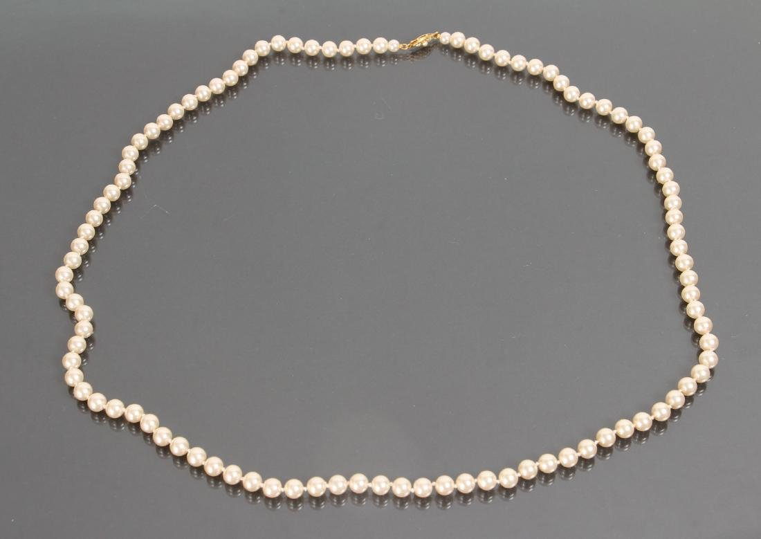Large Group of Pearl Jewelry - 2