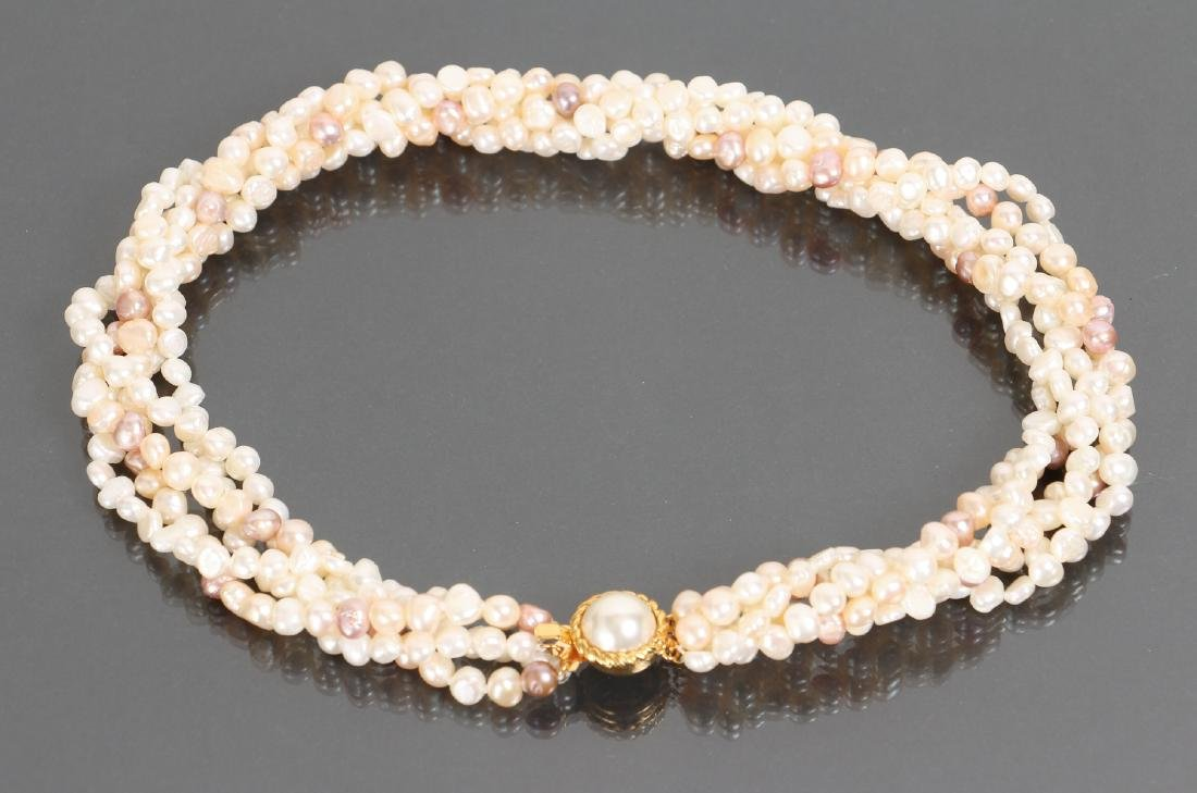 Large Group of Pearl Jewelry - 3