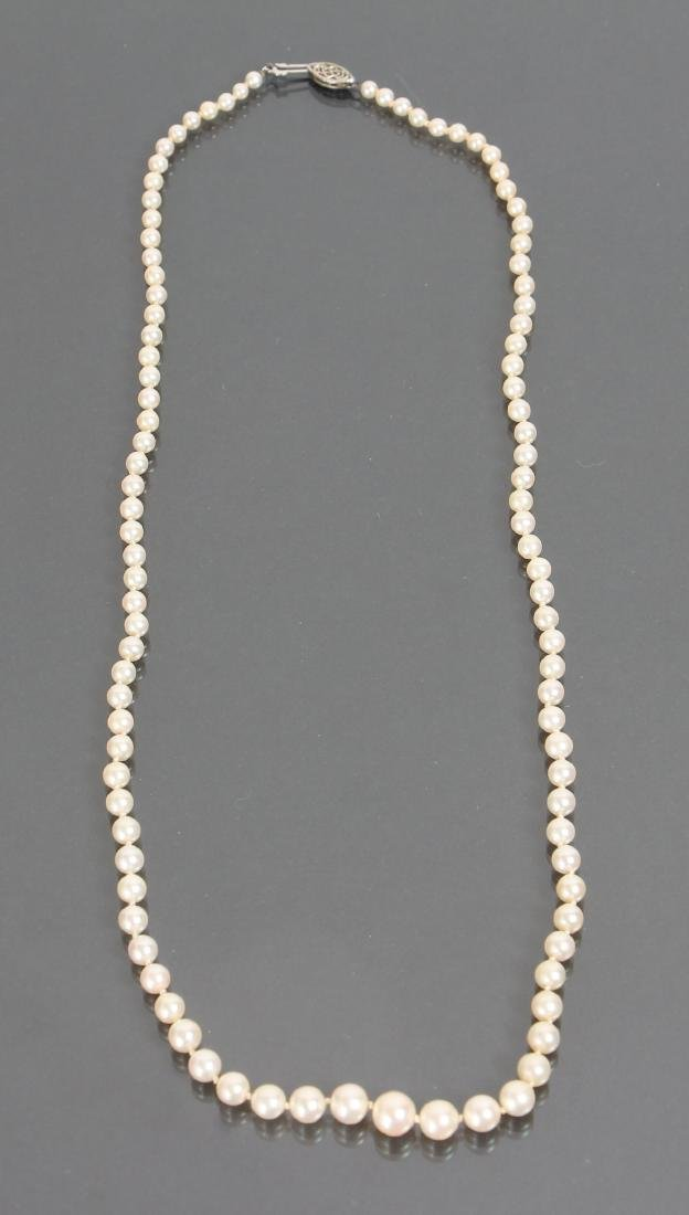 Large Group of Pearl Jewelry - 5