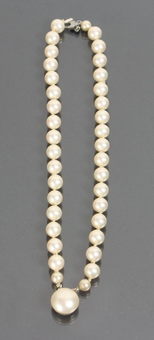 Large Group of Pearl Jewelry - 7