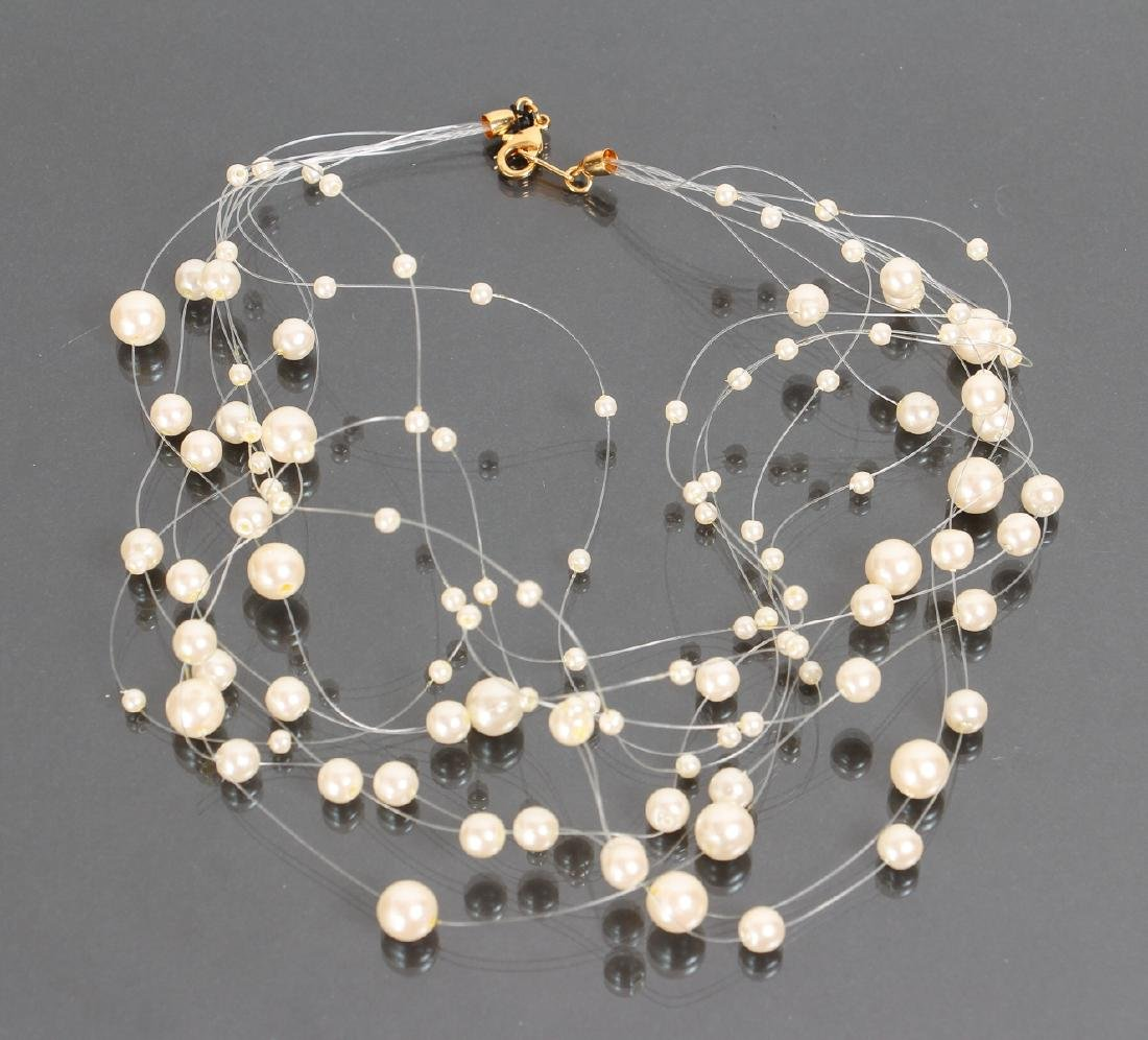 Large Group of Pearl Jewelry - 8