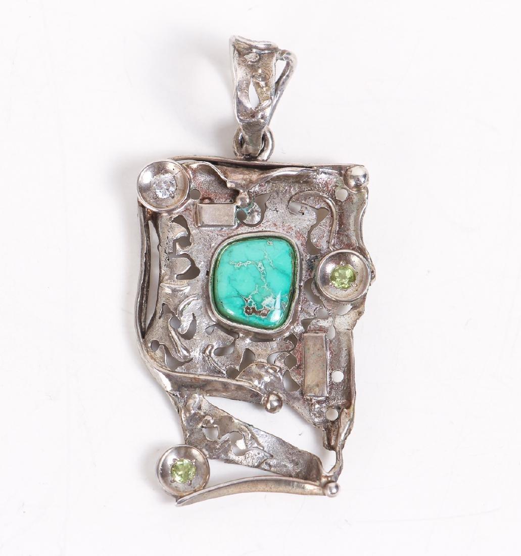 Five Pieces of Studio Jewelry - 7
