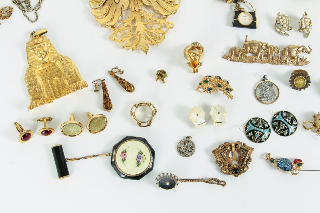 Large Lot of Costume Jewelry - 7