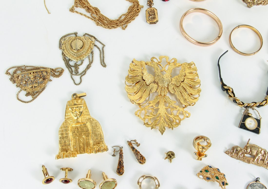 Large Lot of Costume Jewelry - 8