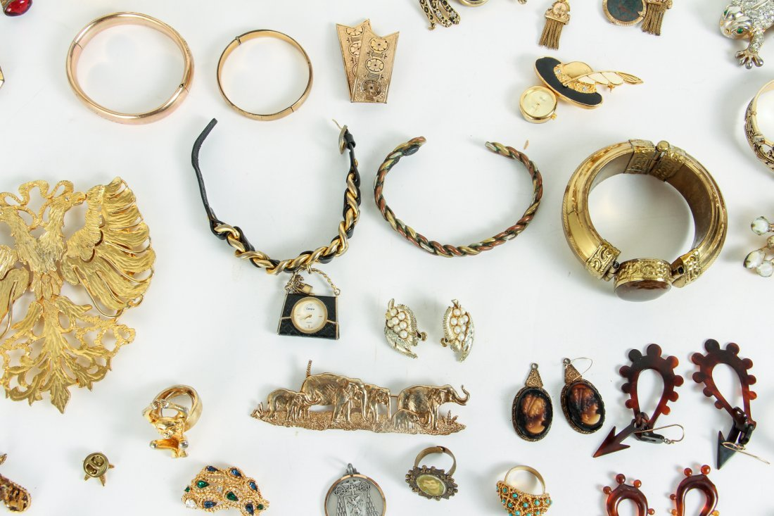 Large Lot of Costume Jewelry - 9