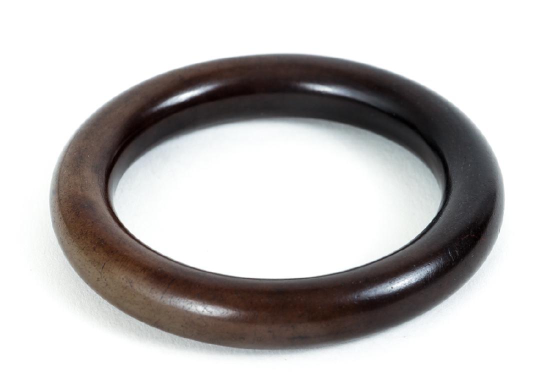 Ten Chinese Jade or Nephrite Bracelets - 4