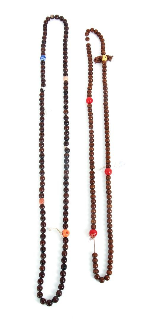 Large Group of Wooden Prayer Beads - 3