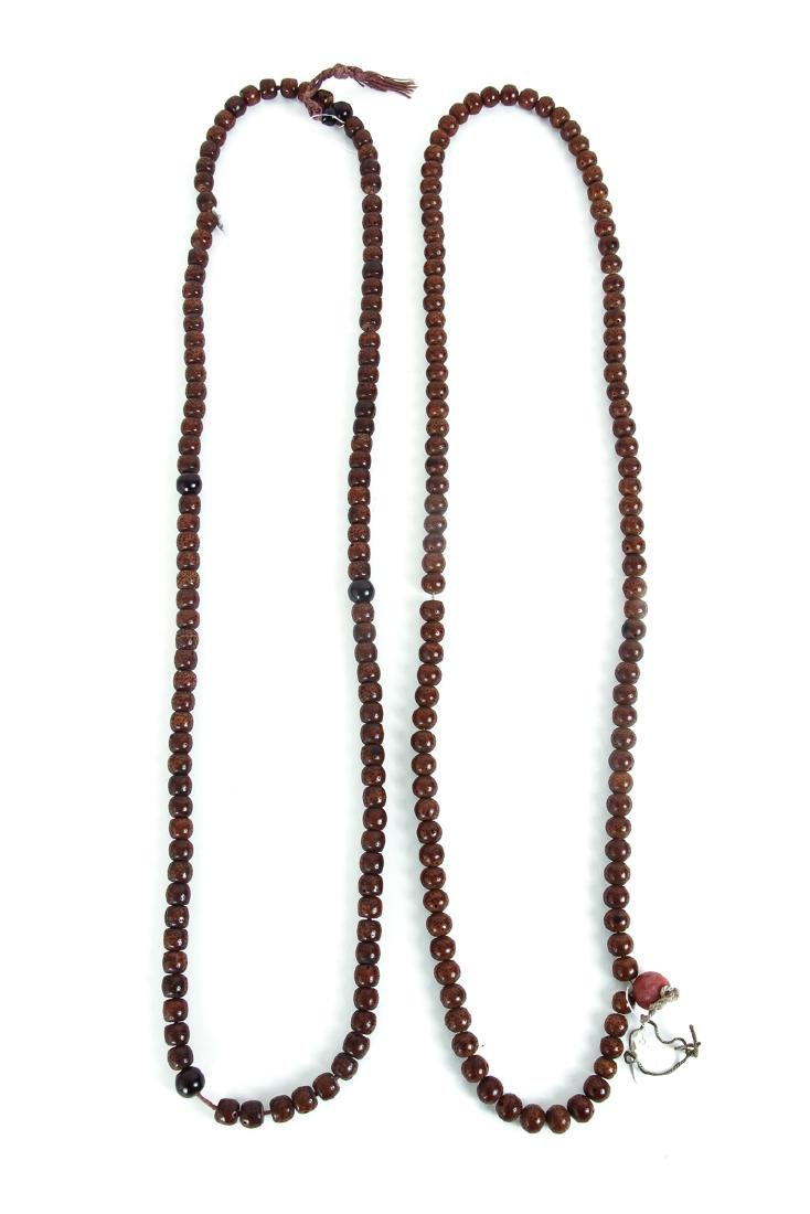 Large Group of Wooden Prayer Beads - 4