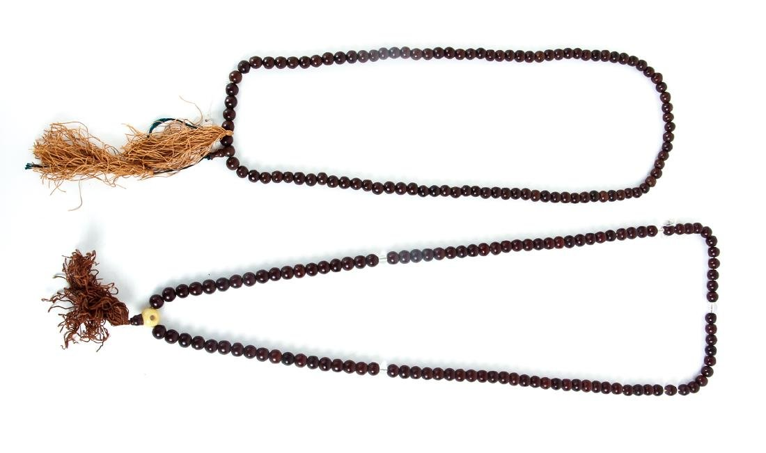 Large Group of Wooden Prayer Beads - 5