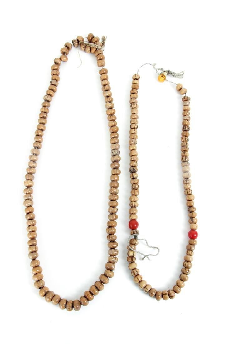 Large Group of Wooden Prayer Beads - 6