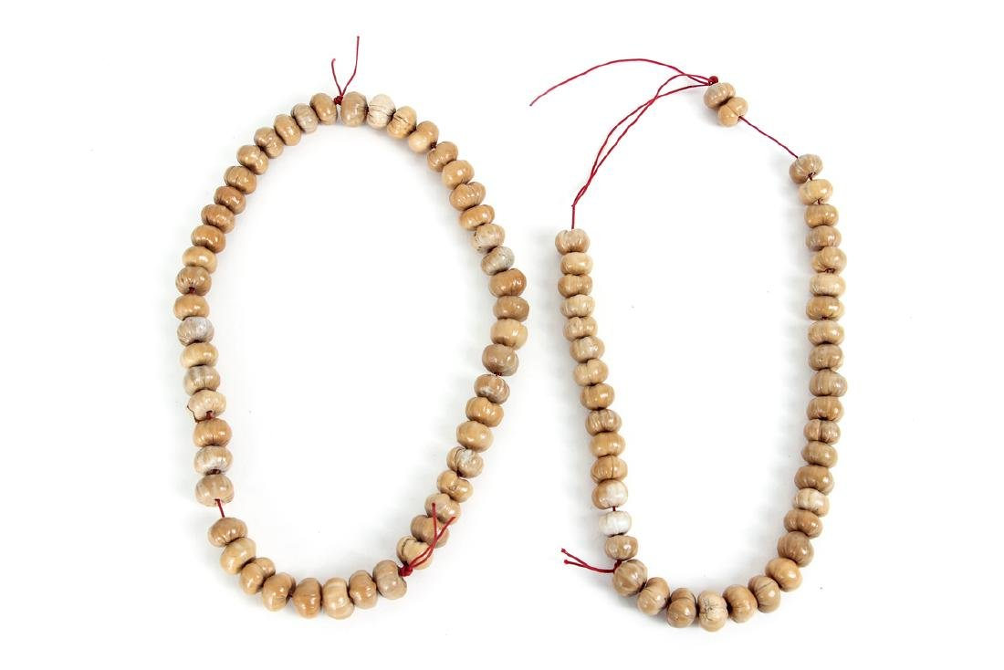 Large Group of Wooden Prayer Beads - 7