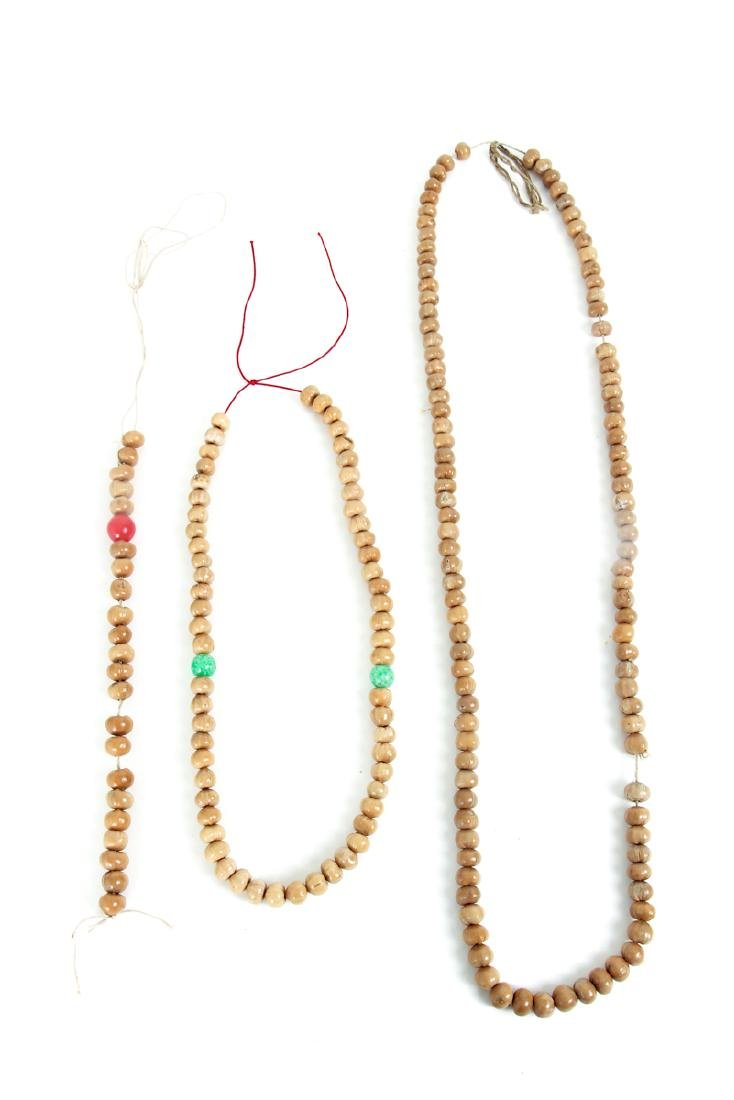 Large Group of Wooden Prayer Beads - 8