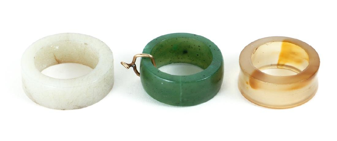 Large Group Chinese Jade and Nephrite Bi Discs - 8