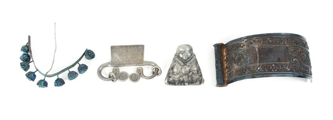 Large Group of Miscellaneous Asian Jewelry Fragments - 5