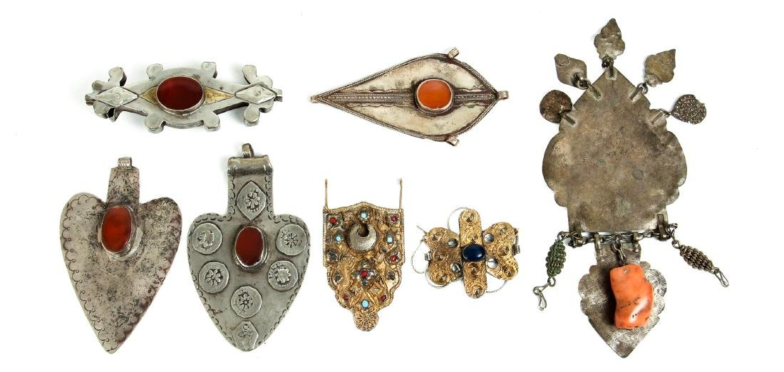 Interesting Group Asian Jewelry Components - 10