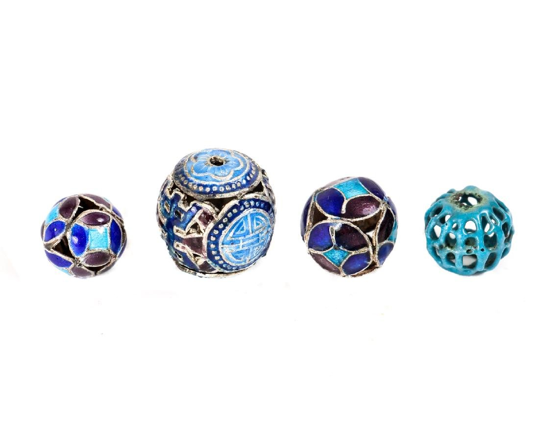 Interesting Group Asian Jewelry Components - 6