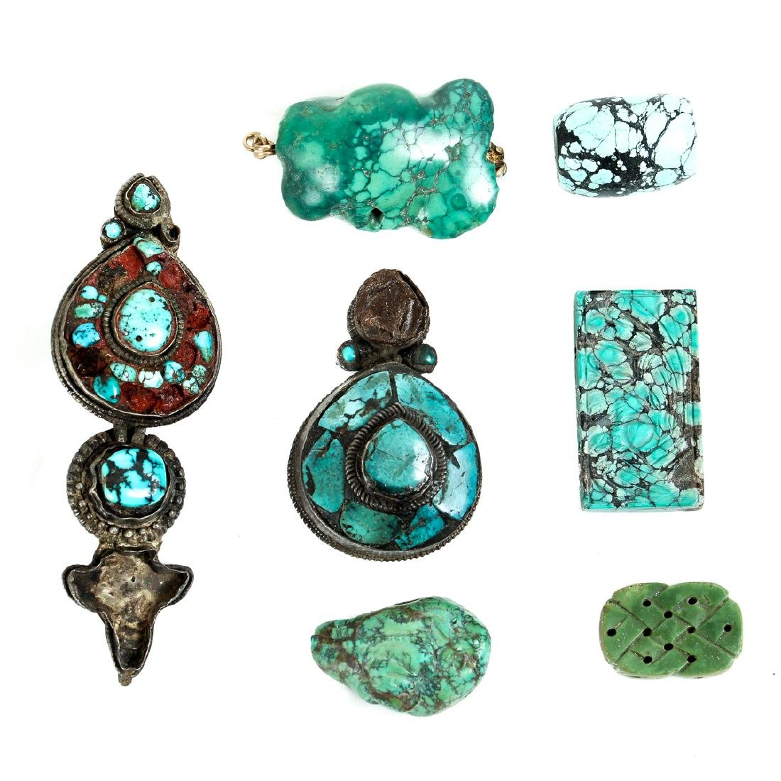 Interesting Group Asian Jewelry Components - 8