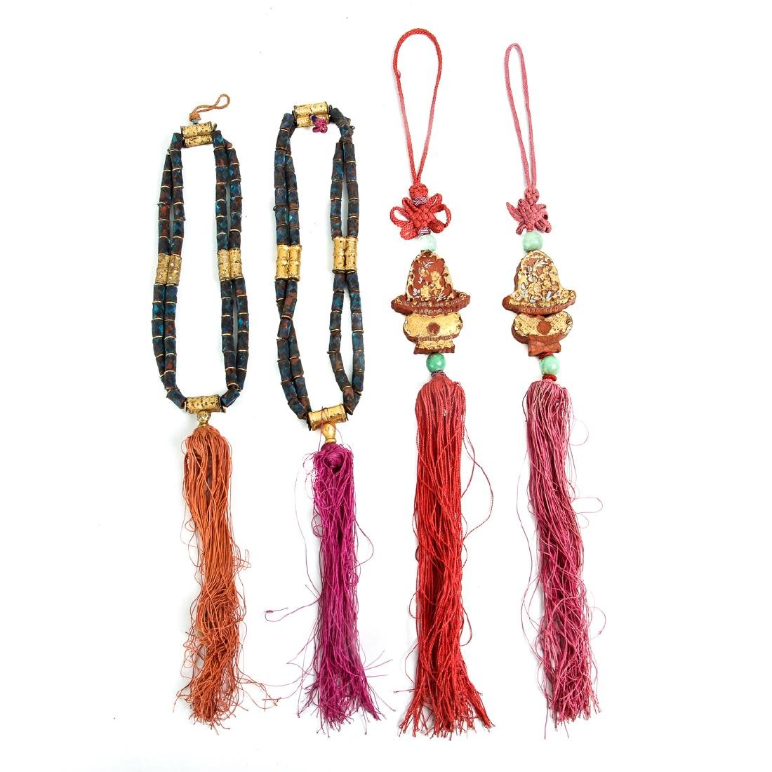 Interesting Group Asian Jewelry Components - 9