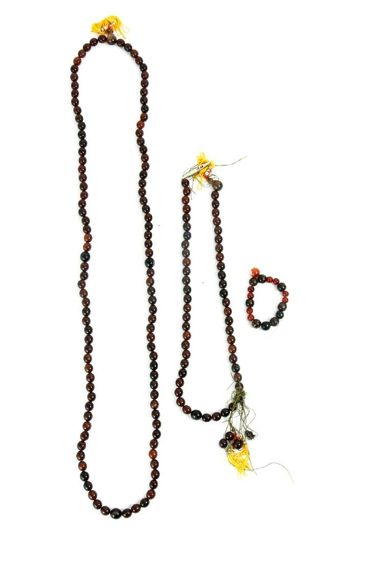 Group of Vintage Prayer and Other Beads - 5