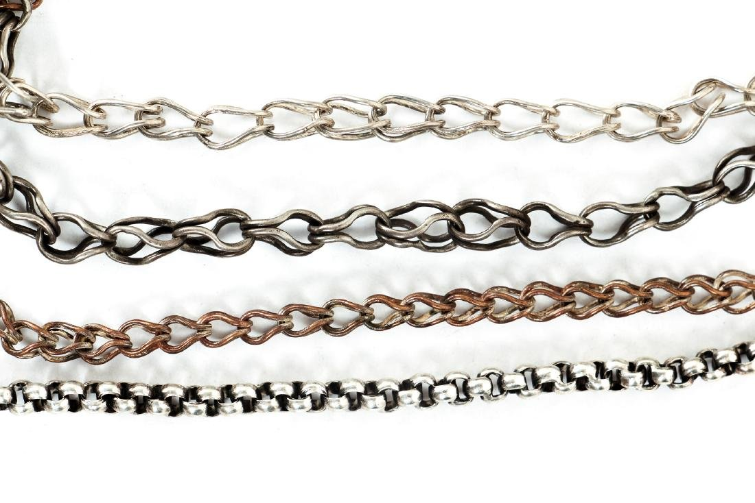 Large Group of Silver  Chain Segments - 3
