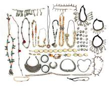 Group of Asian Ethnographic and Other Jewelry