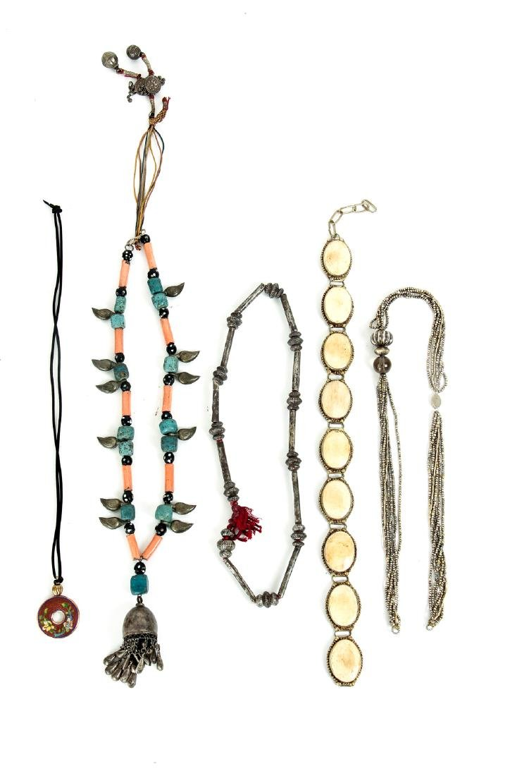 Group of Asian Ethnographic and Other Jewelry - 5