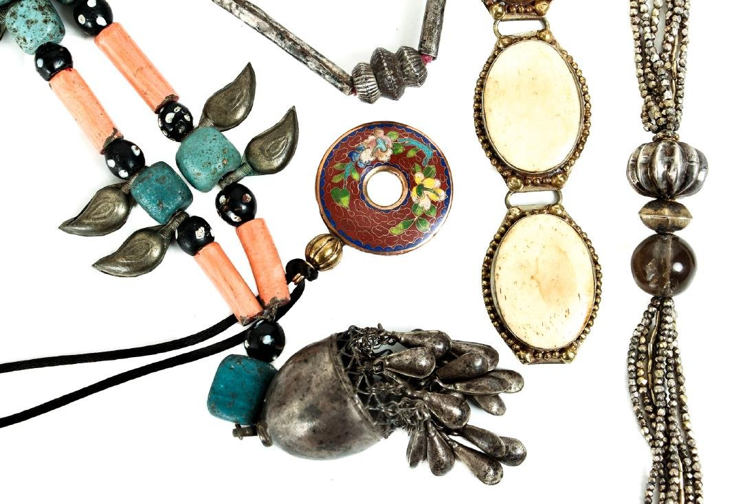 Group of Asian Ethnographic and Other Jewelry - 6
