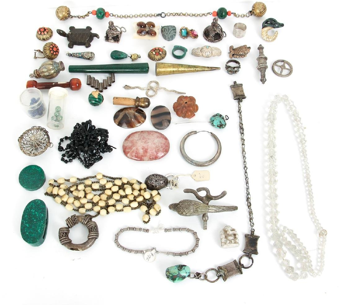 Large Group of Vintage Jewelry Making Supplies - 2