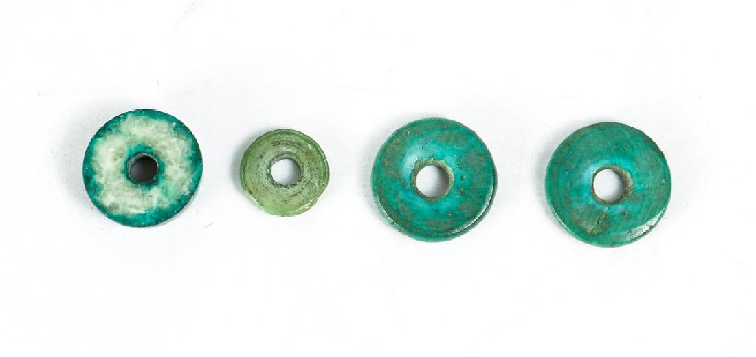 Large Group of Jade or Nephrite Beads - 4