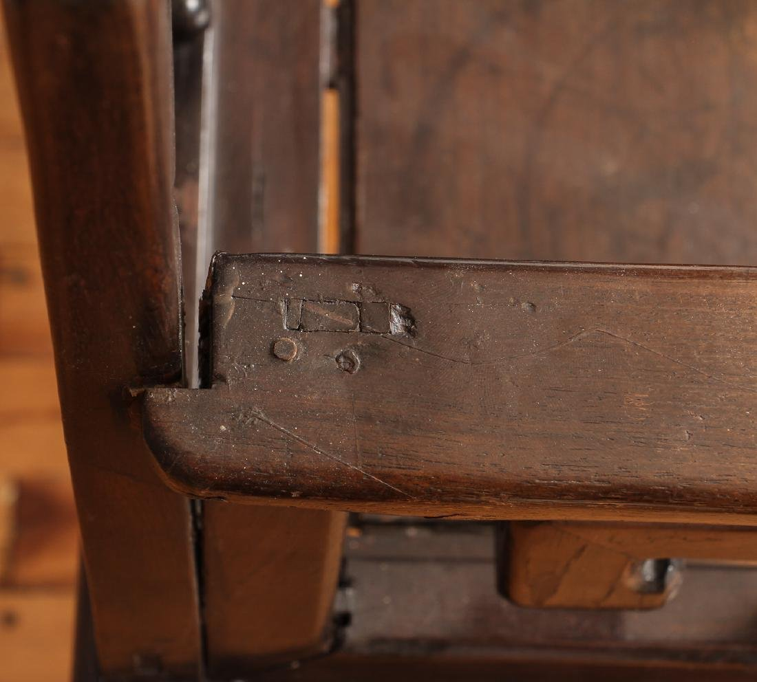 Pair of Antique Chinese Carved Wood Chairs - 5