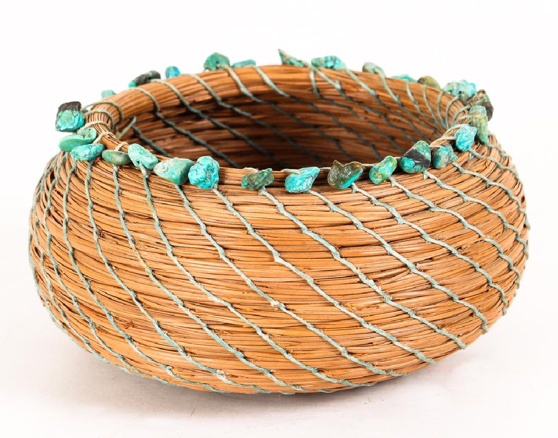 South West American Indian Pine Needle Basket