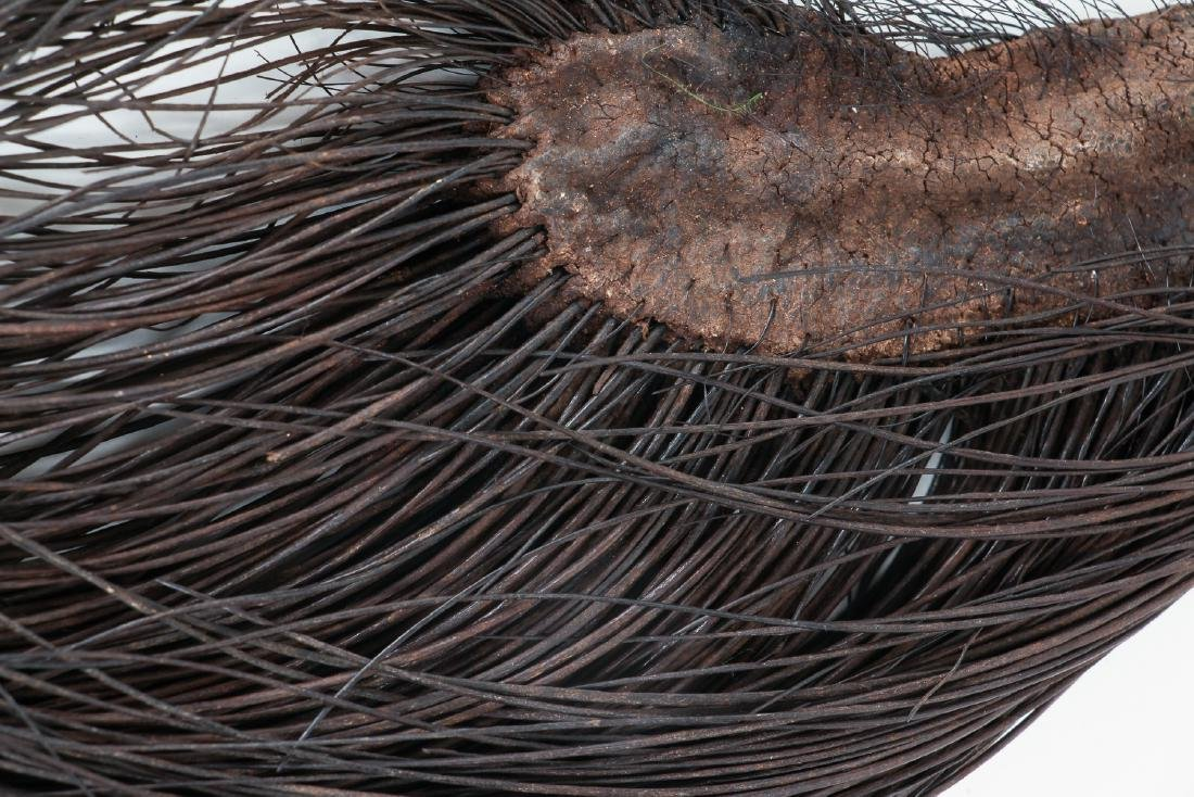 African Elephant's Hair Fly Whisk - 4