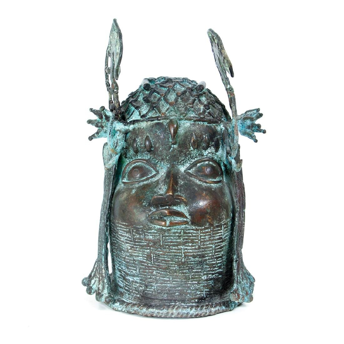 Edo Queen brass or bronze cast