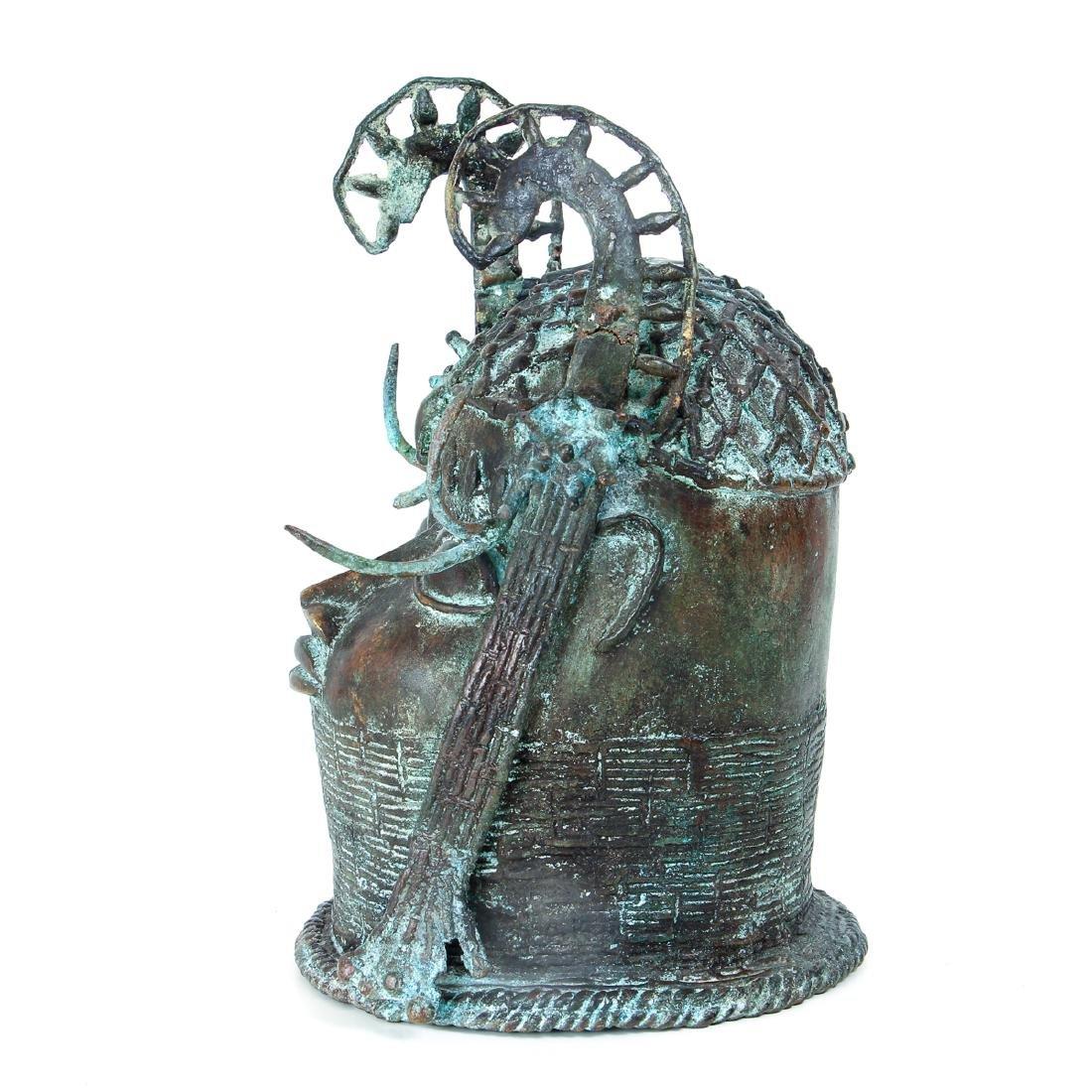 Edo Queen brass or bronze cast - 2