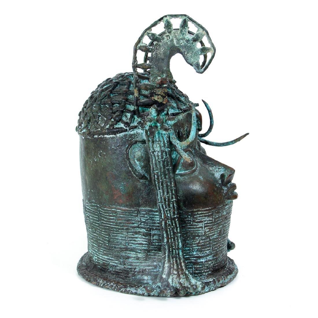 Edo Queen brass or bronze cast - 4