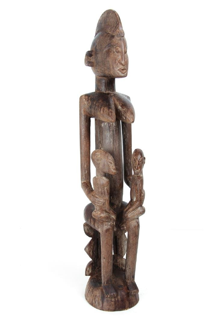 Dogon Maternity Figure with Twins