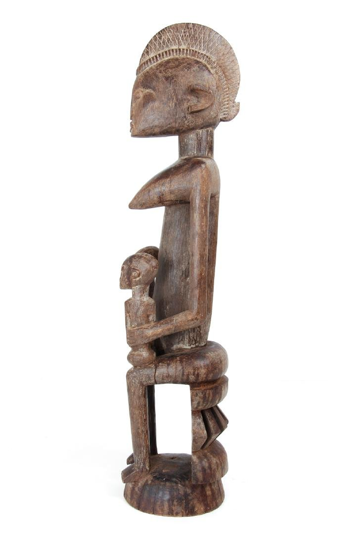 Dogon Maternity Figure with Twins - 3