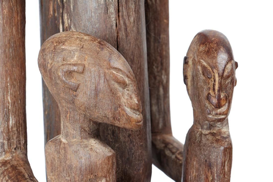 Dogon Maternity Figure with Twins - 7