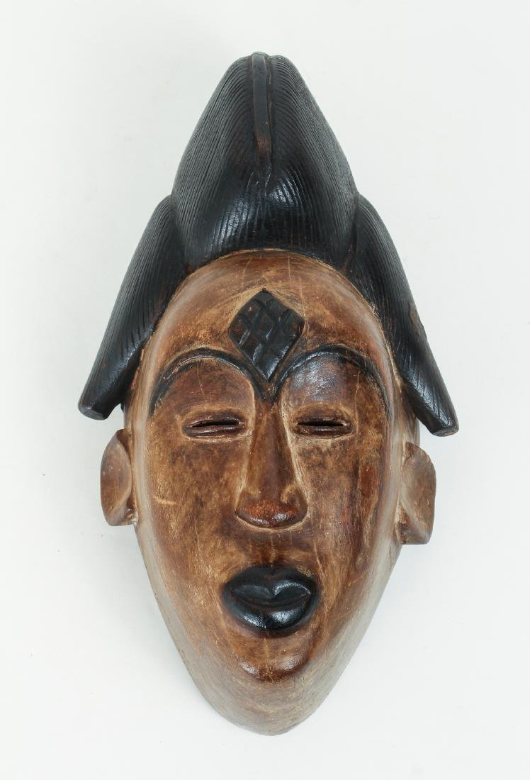 Panu Peoples, carved and polychromed mask
