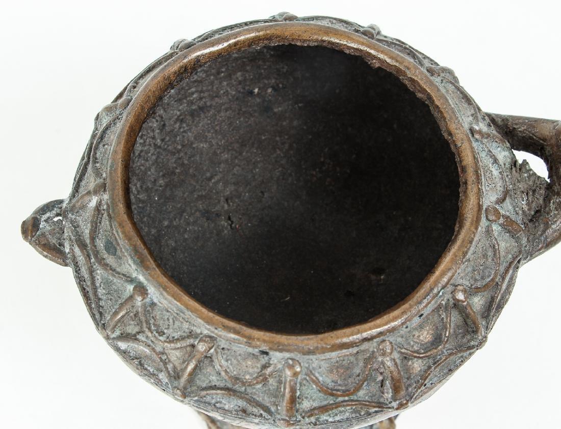Ashanti bronze ritual vessel - 5