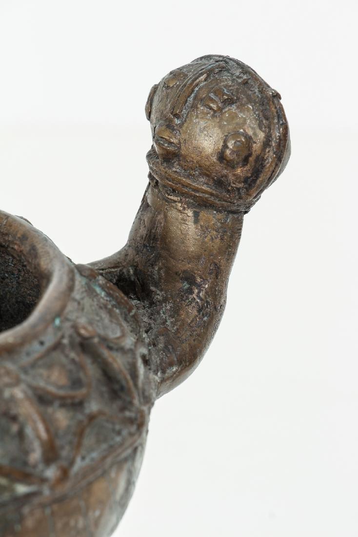 Ashanti bronze ritual vessel - 6