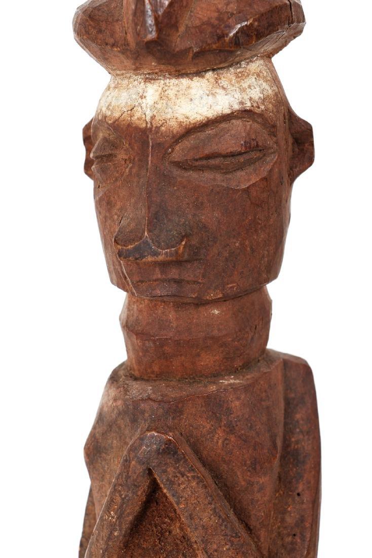 African Standing Ancestor Figure - 4