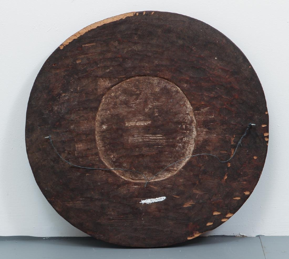 African carved wooden plate - 6
