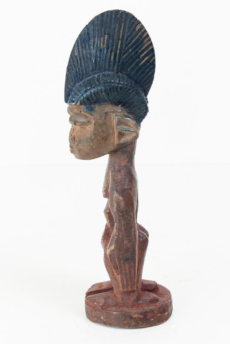 Yoruba Peoples Ibeji Standing Figure - 3