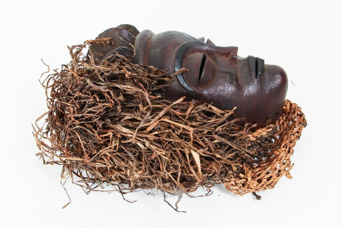 20th Century Chockwe Mask, - 3